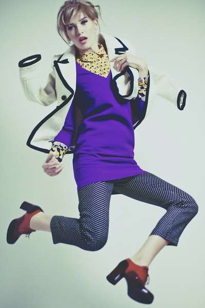 Hair & makeup by Loni. Image Billy Rood. Styling Marta @ Factor. Model Melody Kandil @ Ford