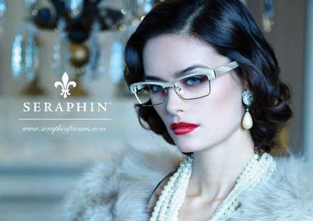 OGI/Seraphin Eyewear. Hair/Makeup by Loni