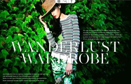 Rue Magazine travel edition. Japan, Monaco, Alaska etc..