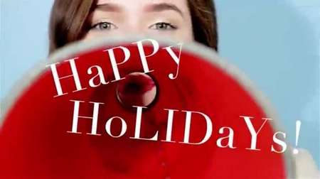 Video Still ~ Glossedand found.com web editorial.  Holiday 2013. hair by Loni