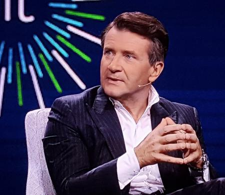 Robert Herjavec. Grooming by Loni